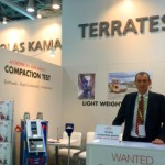 Light weight deflectometer TERRATEST 5000 Blu, Mr Schulz in India
